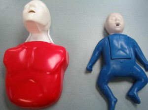 Adult and Infant CPR Mannequin