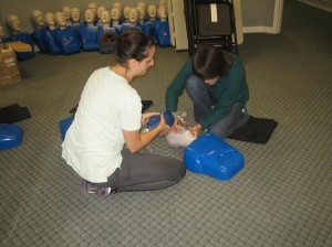 workplace approved Standard First Aid Classroom