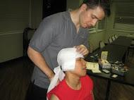 how to dress head injuries